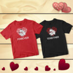 Forever Together Animated Couple T-Shirts